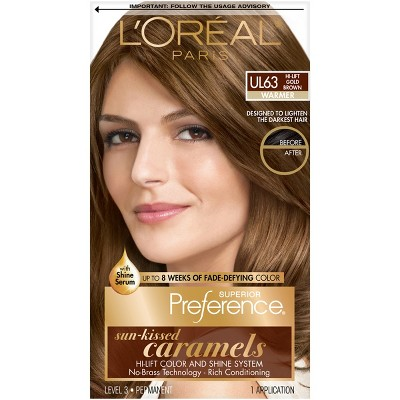L Oreal Paris Superior Preference Permanent Hair Color Medium Rose
