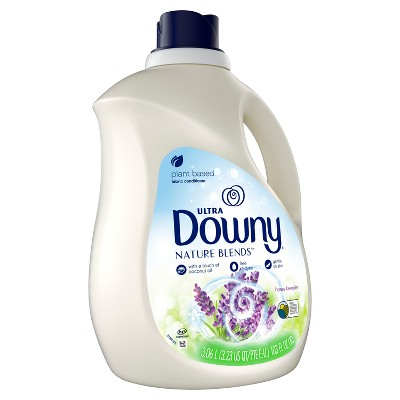 Downy Nature Blends Honey Lavender Scented Liquid Fabric Conditioner - 120 Loads - 103 fl oz