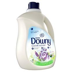 Downy Nature Blends Honey Lavender Scented Liquid Fabric Conditioner - 120 Loads - 103 fl oz