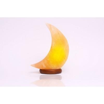 Moon Himalayan Salt Novelty Table Lamp - Q&A Himalayan Salt