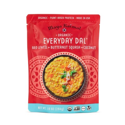 Maya Kaimal Organic Everyday Dal Red Lentils with Butternut Squash and Coconut - 10oz