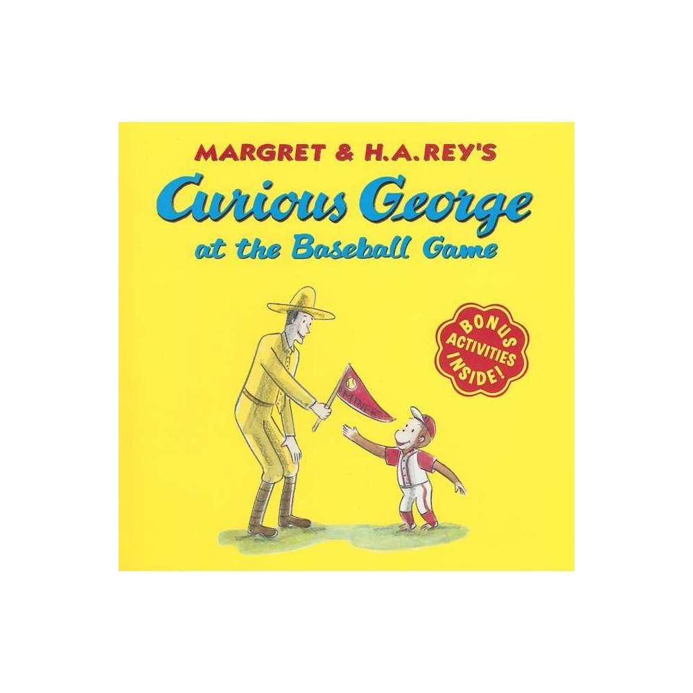 ISBN 9780618663750 product image for Curious George at the Baseball Game - (Curious George 8x8) by H A Rey (Paperback | upcitemdb.com