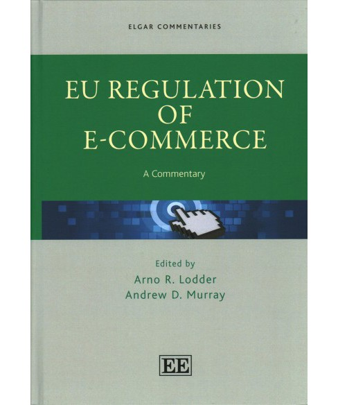 EU Regulation of E-Commerce : A Commentary (Hardcover) - image 1 of 1
