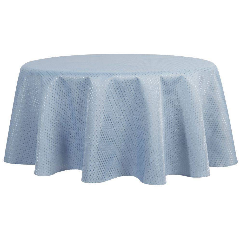 70 34 Round Mckenna Tablecloth Blue Town 38 Country Living