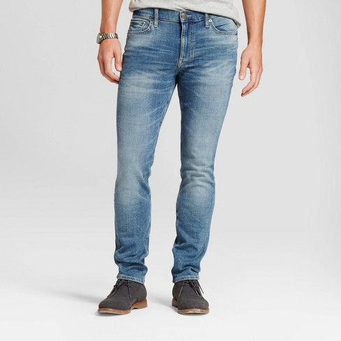 Men's Slim Fit Skinny Jeans - Goodfellow & Co™ Medium Wash 34x34 - image 1 of 4