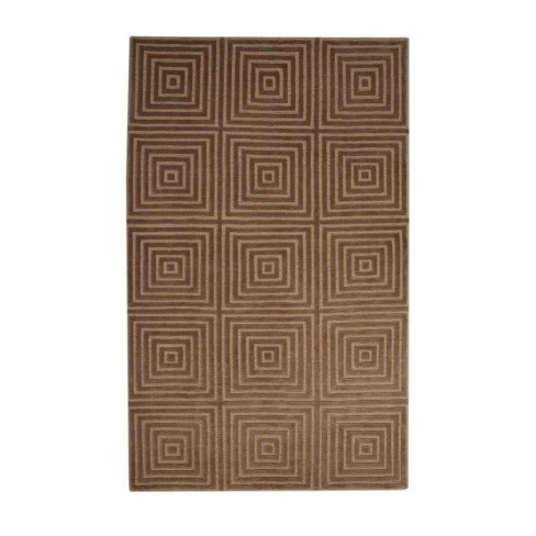 Abacasa Aspen Gold-Brown 8x10 Area Rug - Sam's International - image 1 of 1