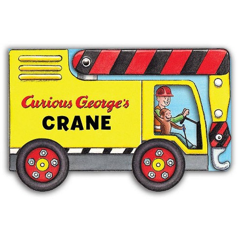 Curious George's Crane (Mini Movers Shaped Board Books) - by  H A Rey (Board_book) - image 1 of 1