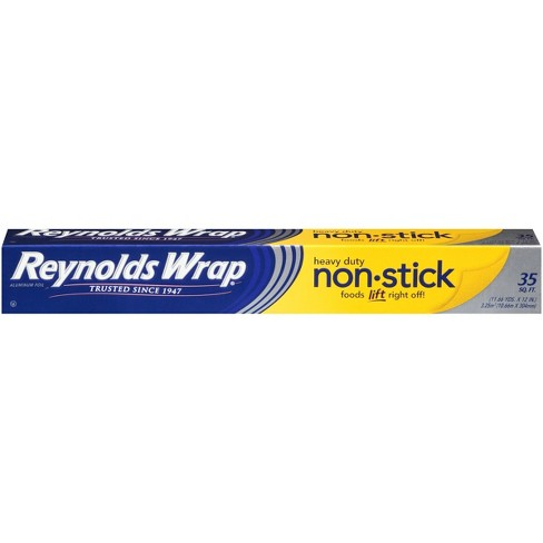 Reynolds Wrap Heavy Duty Non-Stick - 35 sq ft - image 1 of 4