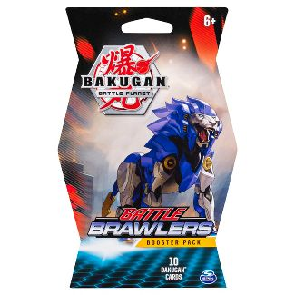 Bakugan Battle Brawlers Booster Pack Collectible Trading Cards