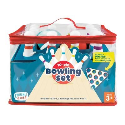 Chuckle & Roar 10 Pin Kids Bowling Set