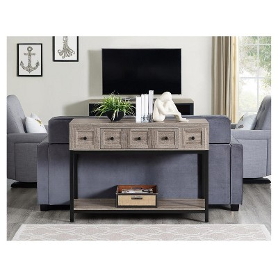 Ivystone Console Table   Sonoma Oak   Room U0026 Joy