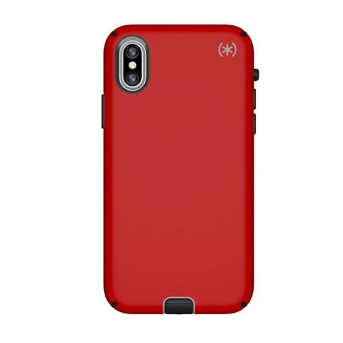 new arrival e8e41 b14d0 Speck Apple iPhone X Case Presidio Sport - Red/Gray/Black