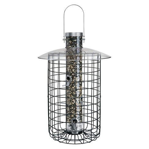 Droll Yankees Sunflower Domed Cage Shelter Feeder - Silver - image 1 of 3