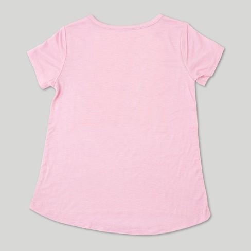 5b776ae0e Toddler Girls' L.O.L. Vintage Short Sleeve T-Shirt The Future - Light Pink  : Target
