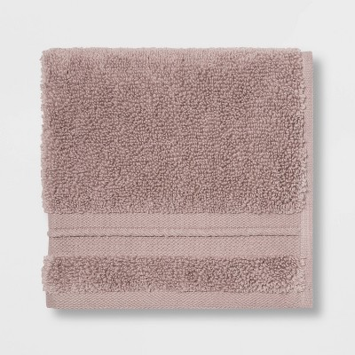 Spa Washcloth Light Mauve - Threshold Signature™