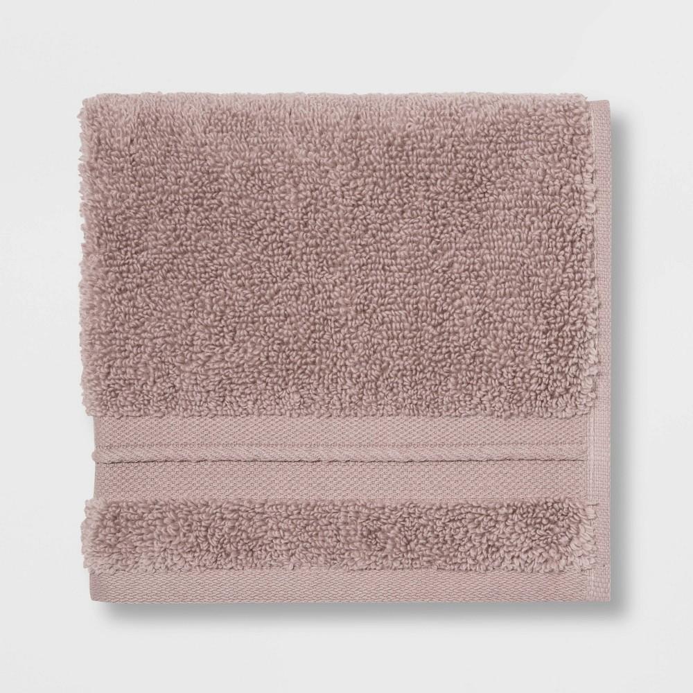 Spa Washcloth Light Mauve - Threshold Signature Promos