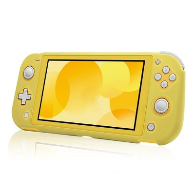 Insten Soft Silicone Skin [Lightweight][Anti-Scratch] Protective Rubber Gel Jelly Grip Cover Compatible with Nintendo Switch Lite 2019 Yellow