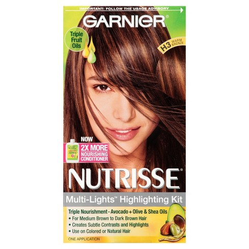 Garnier Nutrisse Multi Lights Highlighting Kit H3 Warm Bronze