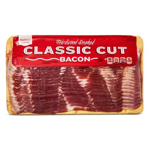 Hardwood Smoked Classic Cut Bacon - 16oz - Market Pantry™ - image 1 of 1