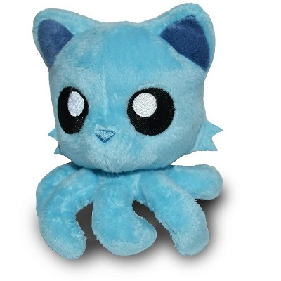 "Tentacle Kitty Little Ones 4"" Plush: Teal"