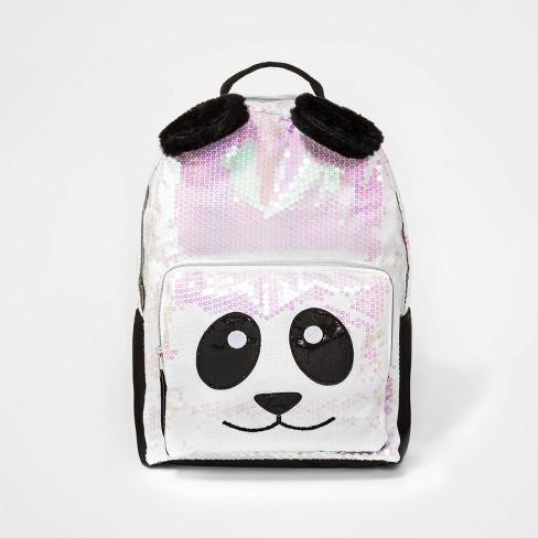 Kids' Sequin Panda Backpack - Cat & Jack™ - image 1 of 2