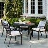Fairmont 2pk Stationary Patio Dining Chair - Linen - Threshold™ - image 2 of 4