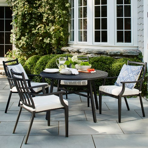 Fairmont 5pc Patio Dining Set - Threshold™ - image 1 of 7