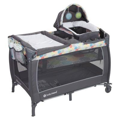 Baby Trend Lil Snooze Deluxe II Nursery Center - Funfetti