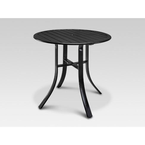 - Camden Balcony Height Round Patio Table Dark Gray - Threshold™ : Target
