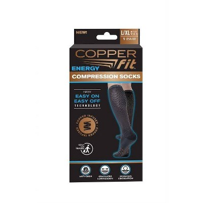 Copper Fit Compression Socks - L/XL
