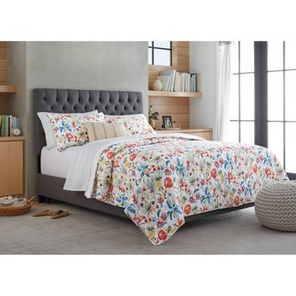 King Tropical Floral Quilt - Threshold™