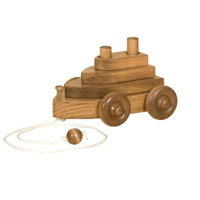 Remley Kids Wooden Boat Pull Toy