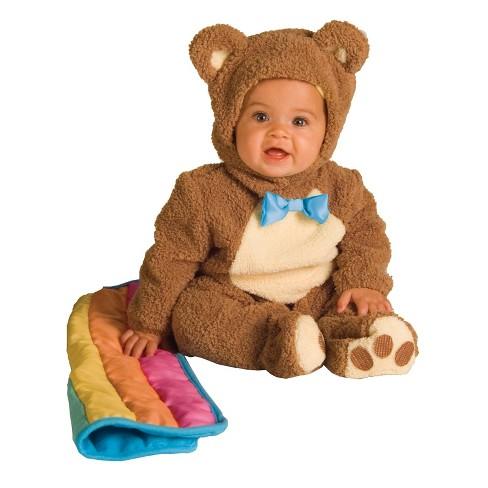 Baby Teddy Bear Halloween Costume 6-12M - image 1 of 1