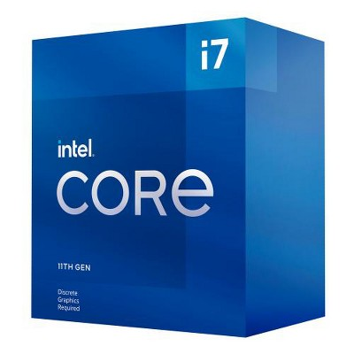 Intel Core i7-11700F Desktop Processor - 8 cores & 16 threads - Up to 4.9 GHz Turbo Speed - 16M Smart Cache - Socket LGA1200 - PCIe Gen 4.0 Supported