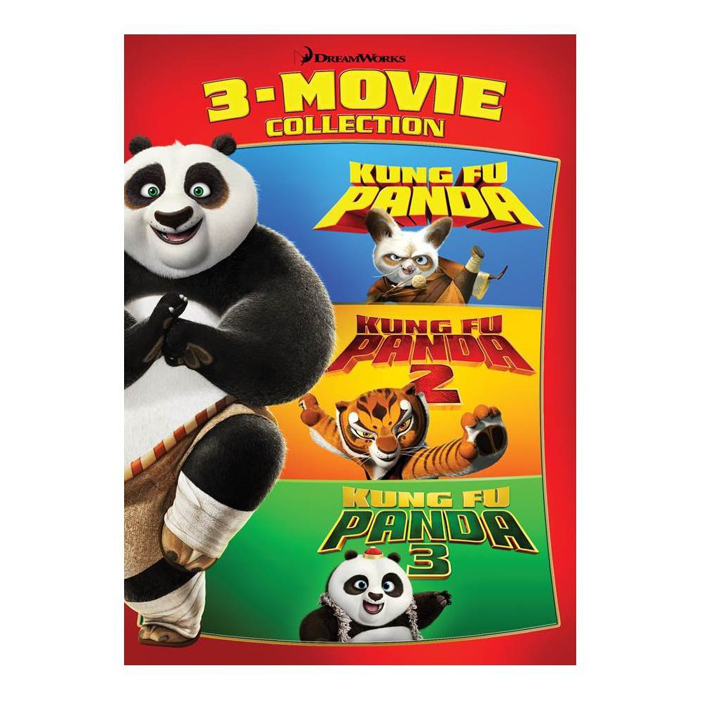 Kung Fu Panda 3-Movie Collection (Dvd)