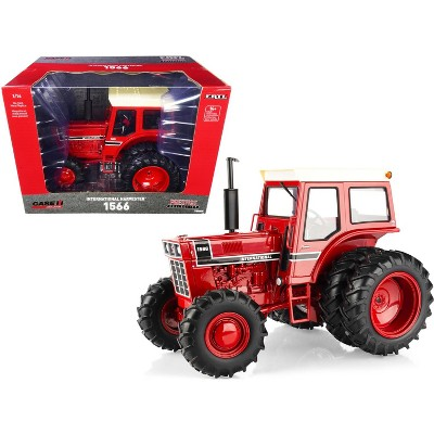 International Harvester 1566 Tractor w/Duals Red with Cream Top & Black Stripe 1/16 Diecast Model by ERTL TOMY