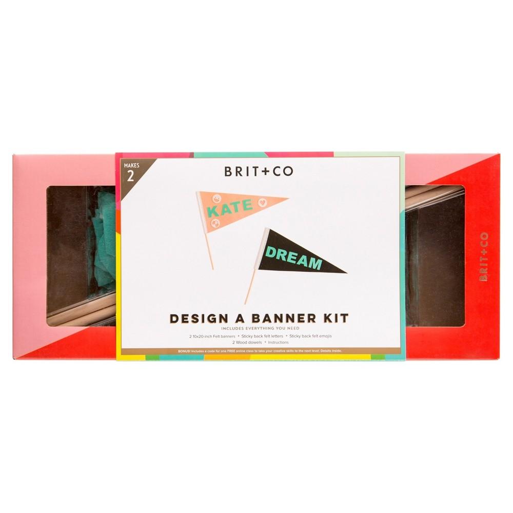 Brit + Co Design a Banner Kit - Makes 2