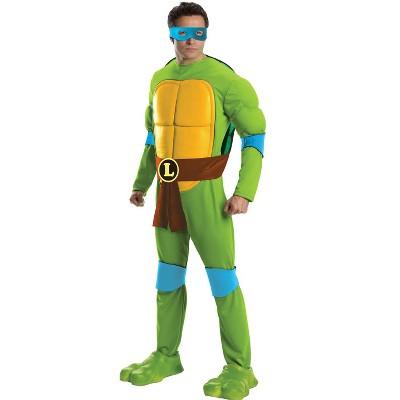 Teenage Mutant Ninja Turtles Teenage Mutant Ninja Turtles Deluxe Leonardo Adult Costume