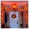 8' 2ct Battery Operated Mini String LED Lights Orange - image 2 of 2