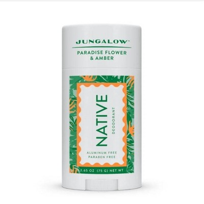 Native x Jungalow Paradise Flower & Amber Deodorant for Women - 2.65oz