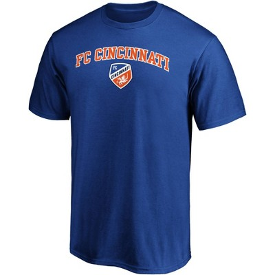 MLS FC Cincinnati Men's Short Sleeve Crew Neck Core T-Shirt
