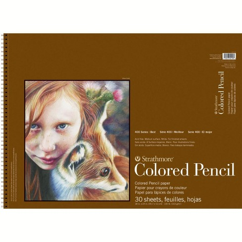 Strathmore 400 Series Colored Pencil Pad, 11 x 14 Inches, 30 Sheets - image 1 of 1