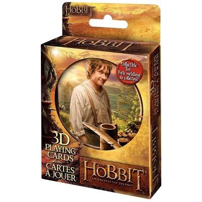 Cartamundi The Hobbit: An Unexpected Journey Lenticular Playing Cards w/ Collectible Tin
