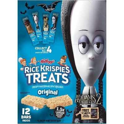 Rice Krispies Treat Adams Family Big Bar - 12ct
