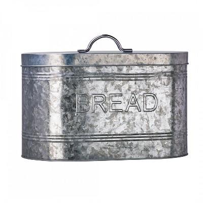 Amici Home Rustic Kitchen Metal Bread Bin, 288oz