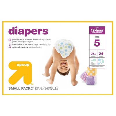Diapers: up & up