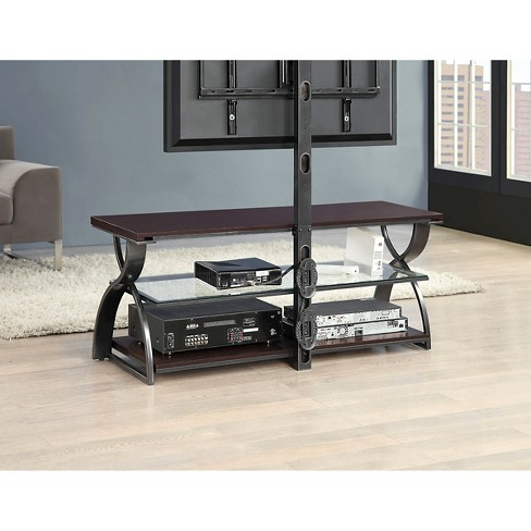 Calico 3 In 1 Tv Stand Gunmetal 54 Whalen Target