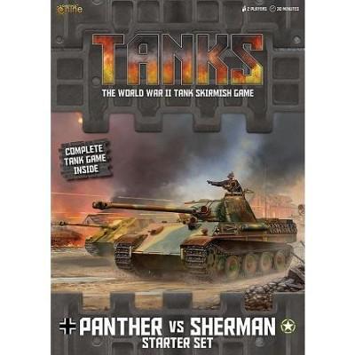 Panther vs. Sherman Starter Set Board Game