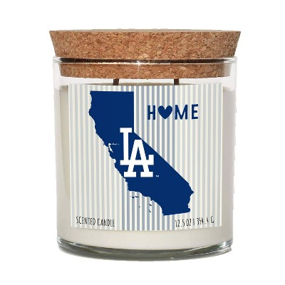 MLB Los Angeles Dodgers Home State Candle