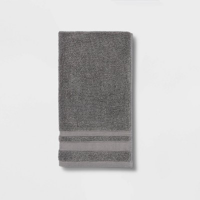 Performance Hand Towel Dark Gray - Threshold™
